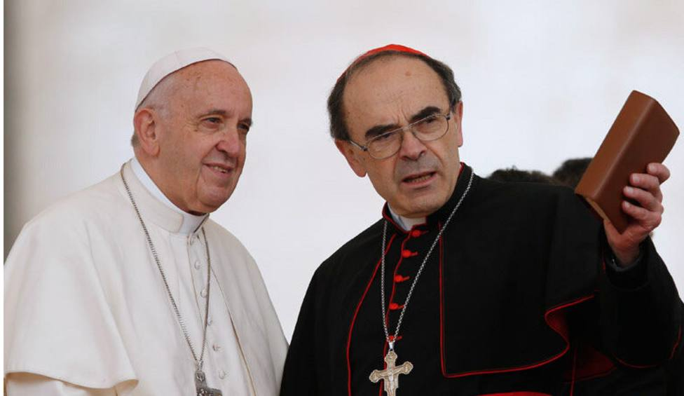 El cardenal Philippe Barbarin se despide de Lyon para seguir desarrollando su trabajo en Oriente Medio