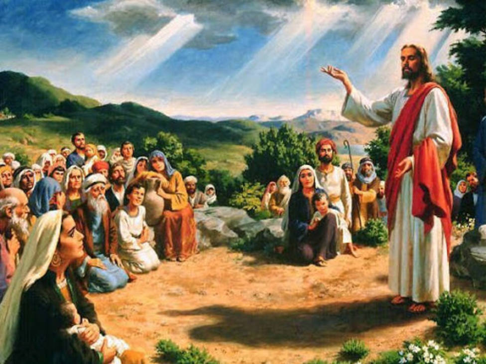"""""""Porque donde dos o tres están reunidos en mi nombre, allí estoy yo en medio de ellos"""""""