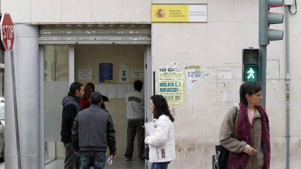 Ofina del paro Valencia