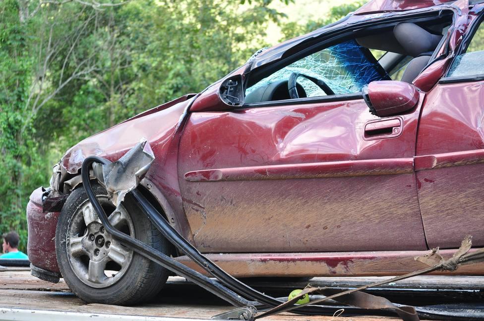 Foto: Archivo accidente de coche