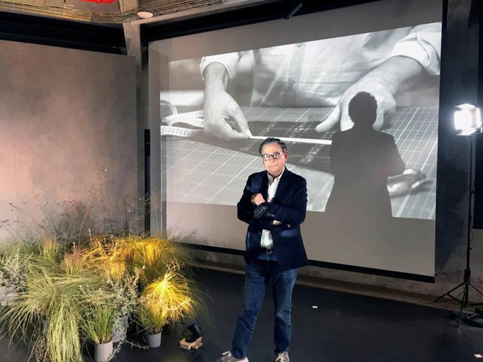 Roberto Verino apuesta en la semana de la moda por los colores de la naturaleza, que no pasan de moda
