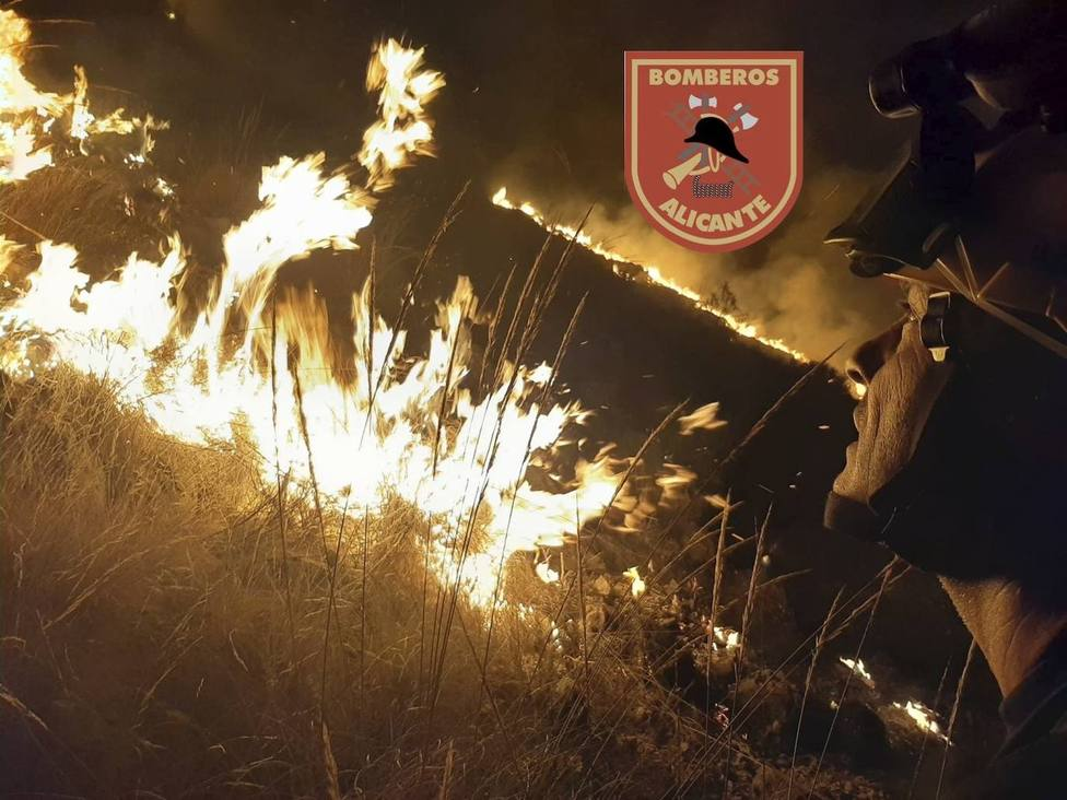Incendio en Fontcalent