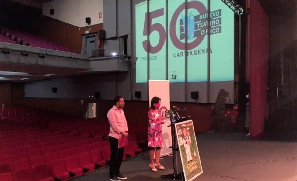 Danza, música, espectáculos infantiles y comedia para celebrar 50 años del Nuevo Teatro Circo de Cartagena