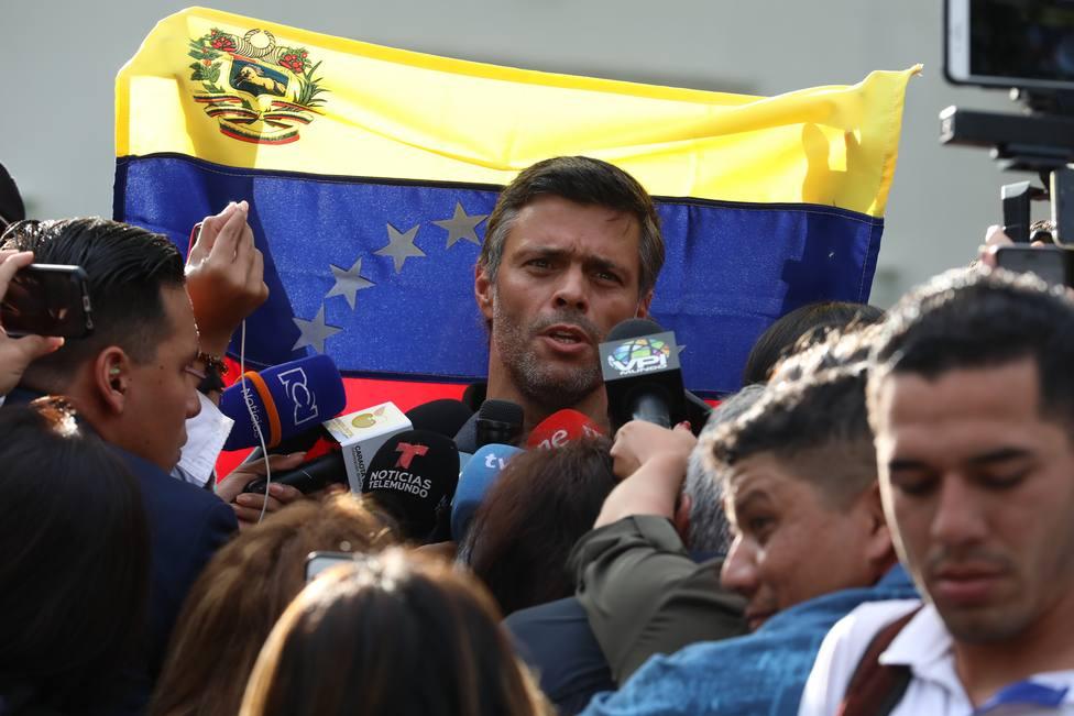 ¿Quién es Leopoldo López, el líder opositor venezolano que podría acabar en España?