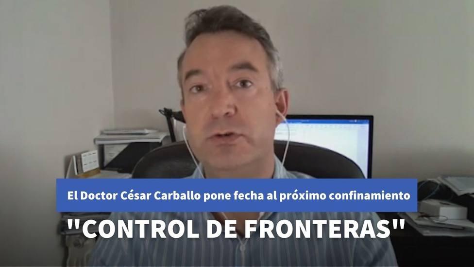 El doctor César Carballo desvela en La Sexta Noche la fecha para el próximo confinamiento en España