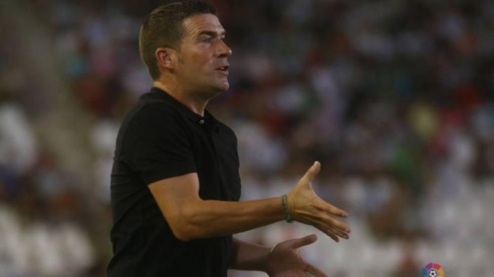 El FC Cartagena confía en Luis Carrión para superar la crisis