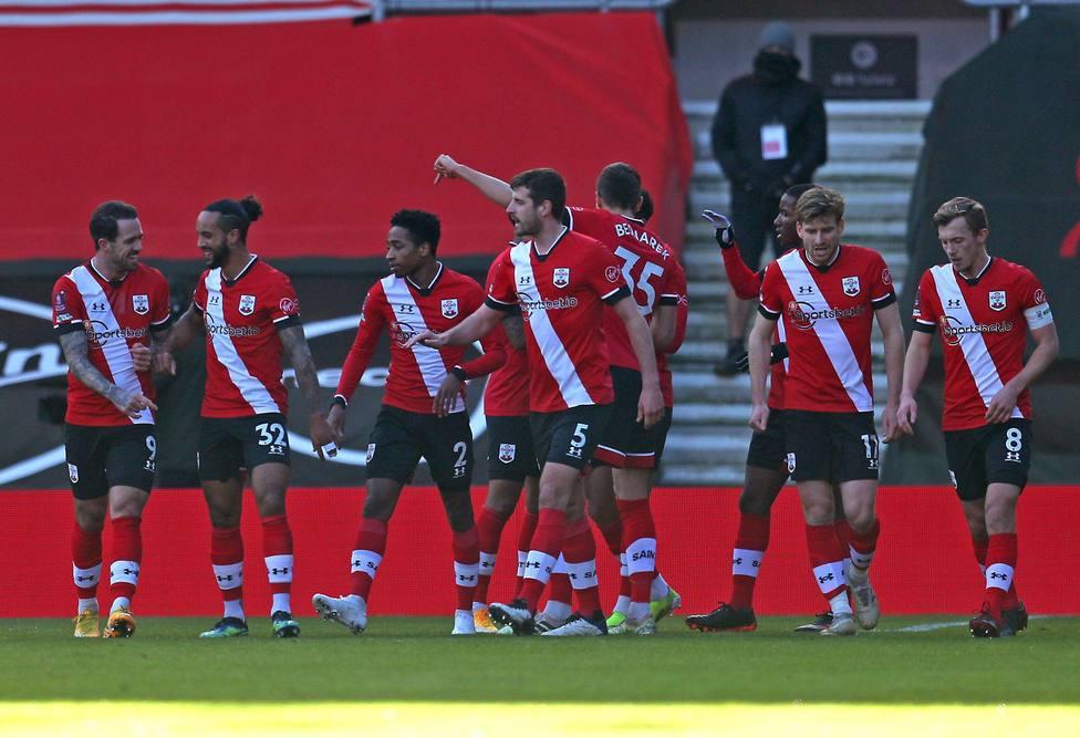Southampton v Arsenal - Emirates FA Cup - Fourth Round - St. Marys Stadium