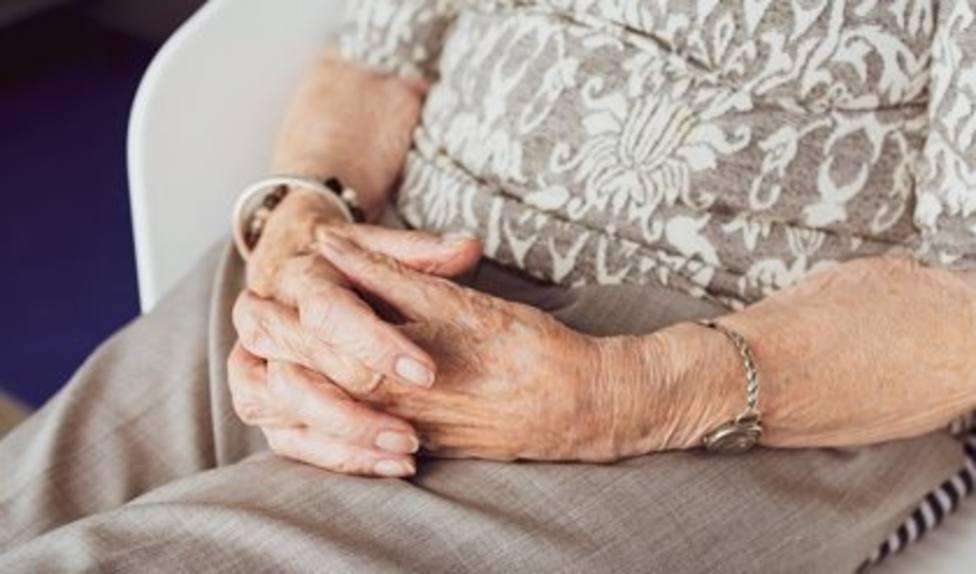 Anciana en Asturias