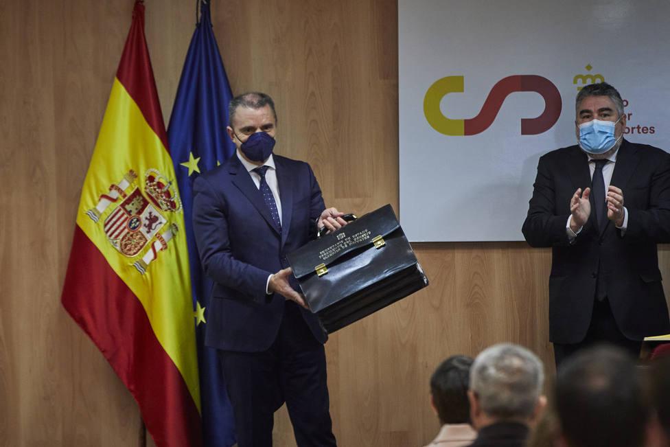 Toma de posesión del presidente del Consejo Superior de Deportes, José Manuel Franco