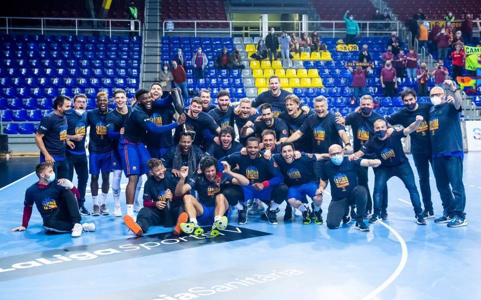 El Barça de balonmano y otros tiranos de sus ligas domésticas