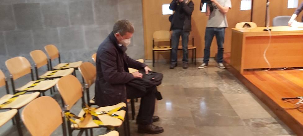José María Quirós en el banquillo