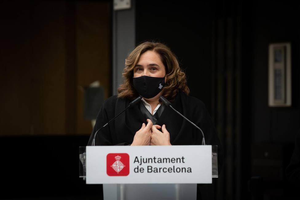 La alcaldesa de Barcelona, Ada Colau - Europa Press - Archivo