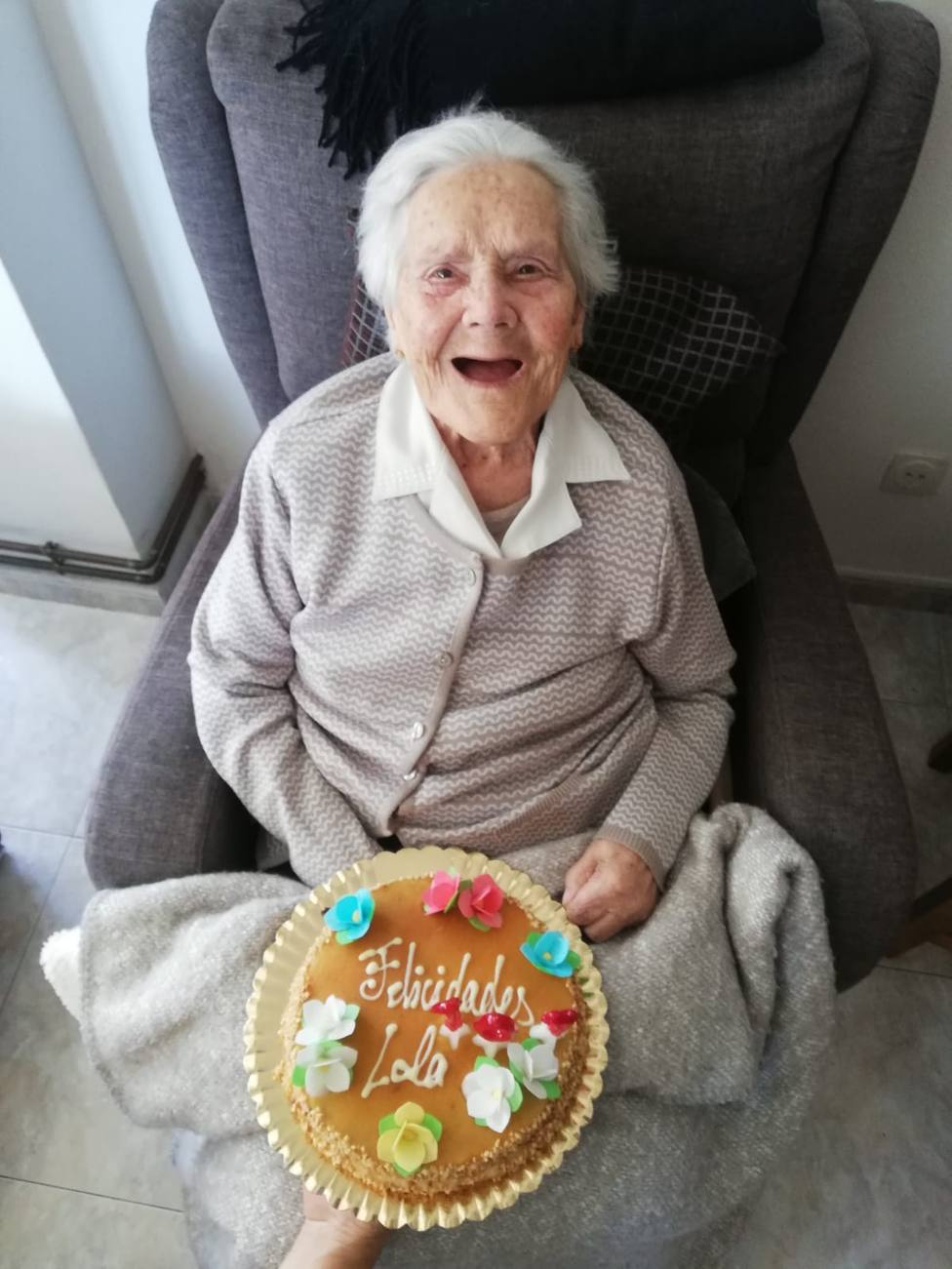 Una de las abuelas de Sober