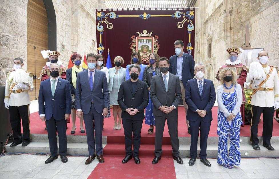 Acto Institucional de entrega del Título de Visitante Ilustre de la ciudad de Burgos al compositor Gustavo Dudamel