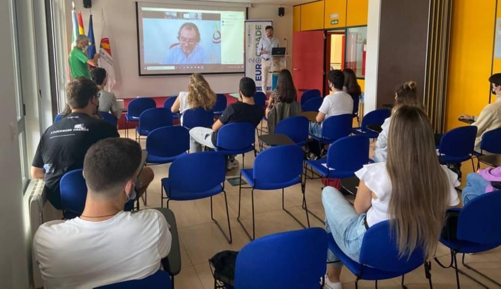 Participantes en el curso de monitor de ocio y tiempo libre