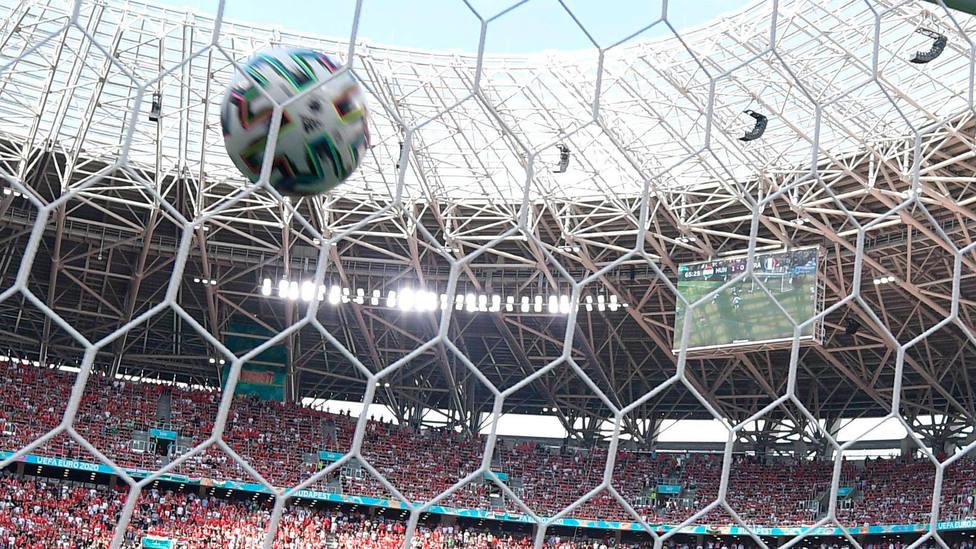 Imagen de un gol en una de las competiciones UEFA. CORDONPRESS