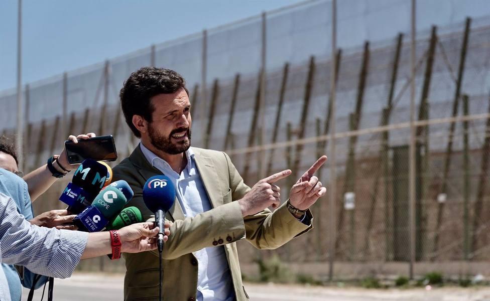 Casado pide a Sánchez recomponer relaciones con Rabat