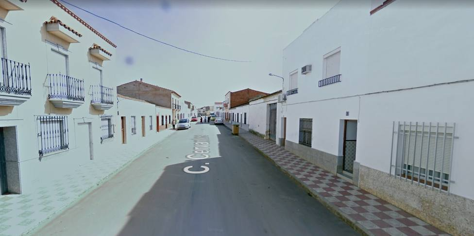 Calle Cervantes en Torremejía