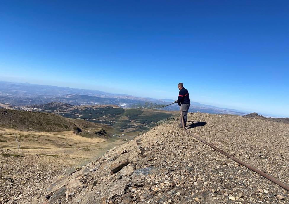 Granada.- Sierra Nevada inicia la hidrosiembra
