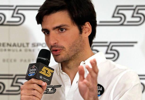 Carlos Sainz, en rueda de prensa. EFE