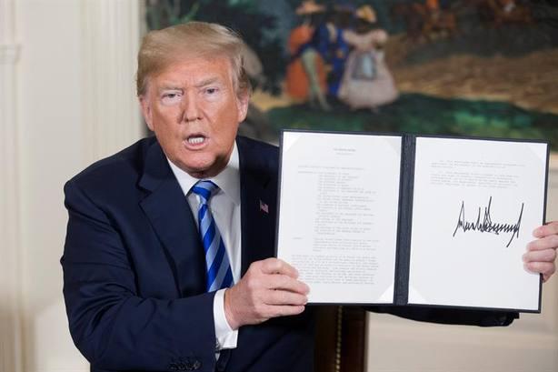 Trump decidió alinearse con los dos mayores enemigos de Irán en la región, Israel y Arabia Saudí