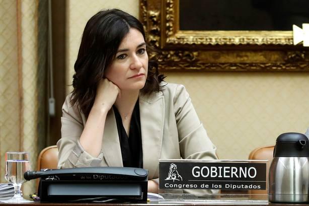Comparecencia de Carmen Montón en la Comisión de Sanidad