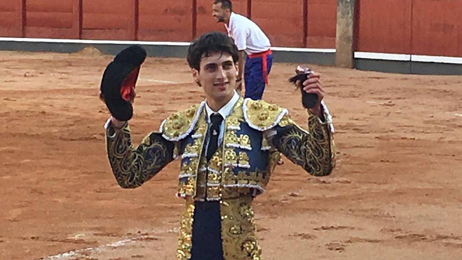 Antonio Grande ha sido el primer triunfador de la Feria de Salamanca