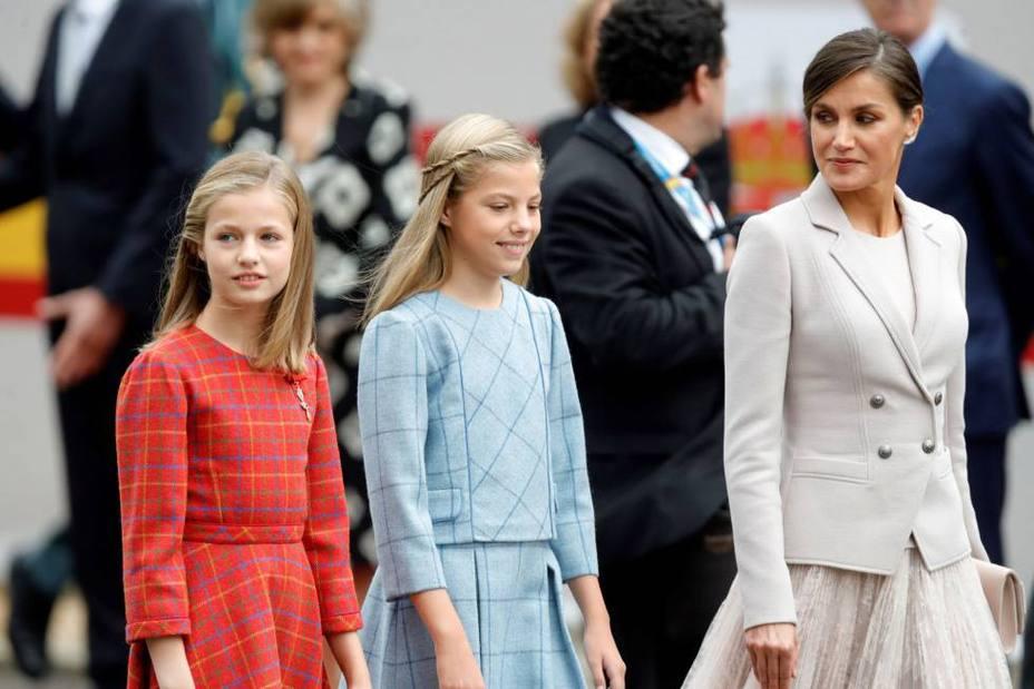 Así ha sido el look Varela de la Reina Letizia en la fiesta Nacional