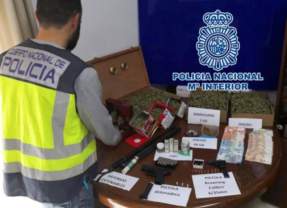 Desarticulan un punto de venta de droga en Dénia (Polícia Nacional, Ministerio de Interior)