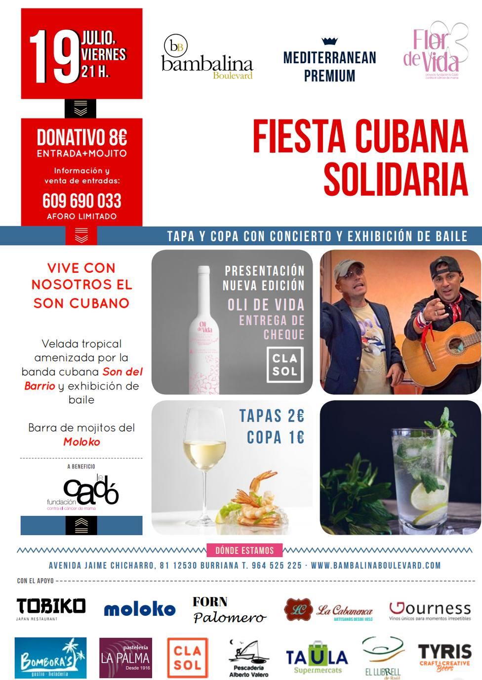 Fiesta Cubana Solidaria