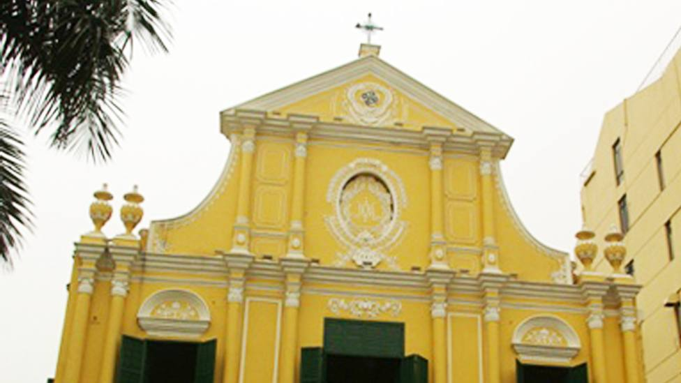 Iglesia de Santo Domingo, en la Diócesis de Macao, en China
