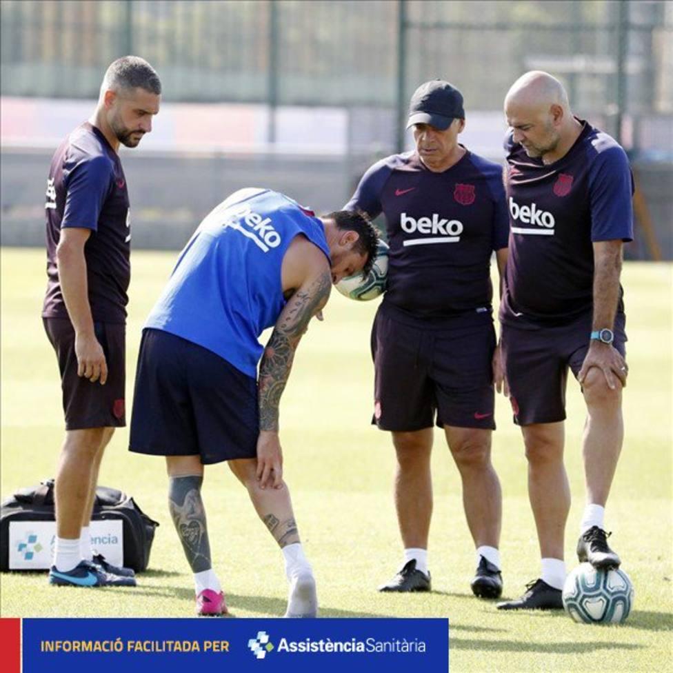 Lesión Messi