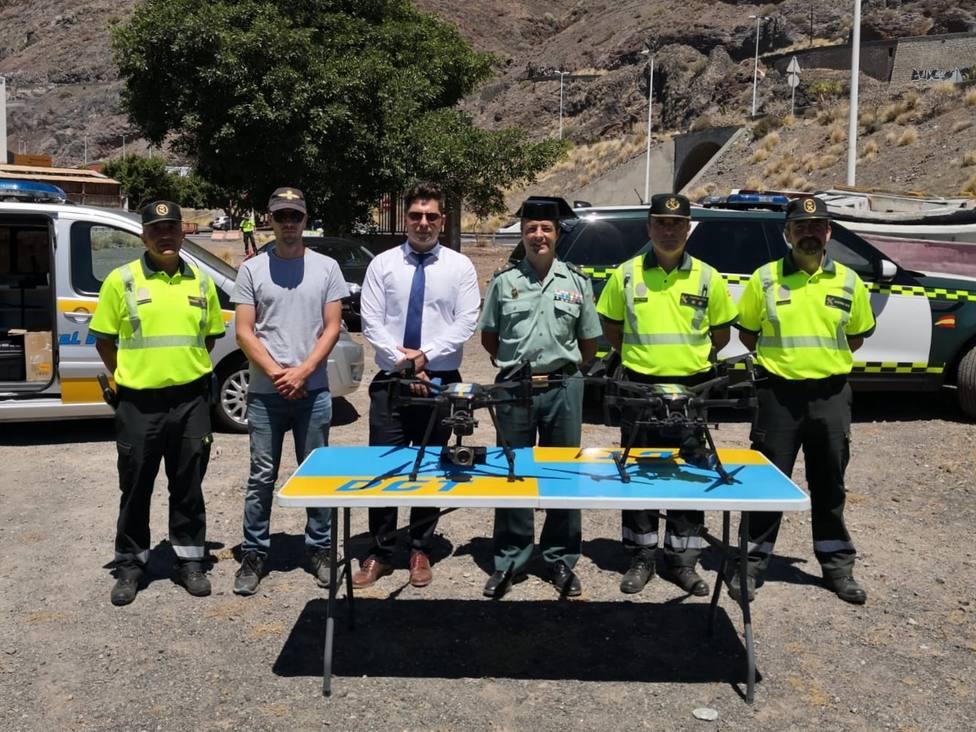 Gran Canaria y Tenerife, primeros del país donde los drones de la DGT podrán multar