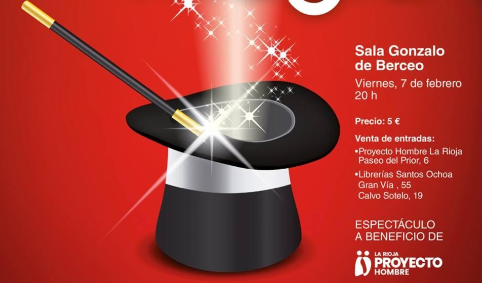 Gala de magia a beneficio de Proyecto Hombre La Rioja