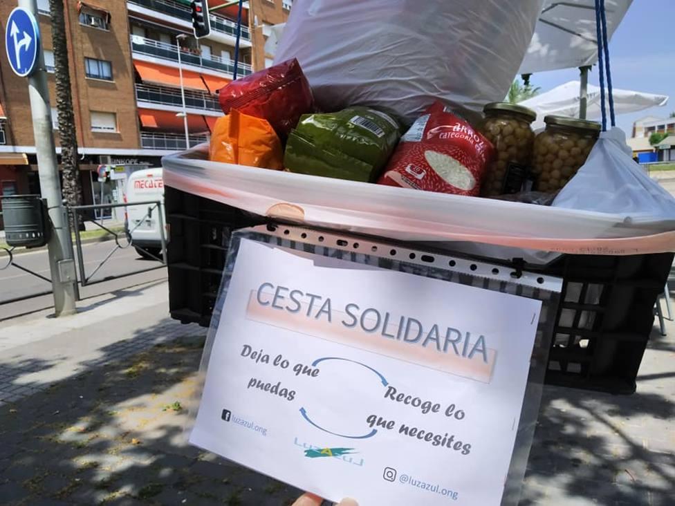 Cestas solidarias