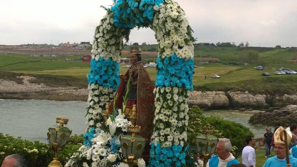 La Virgen del Mar es la patrona de Santander