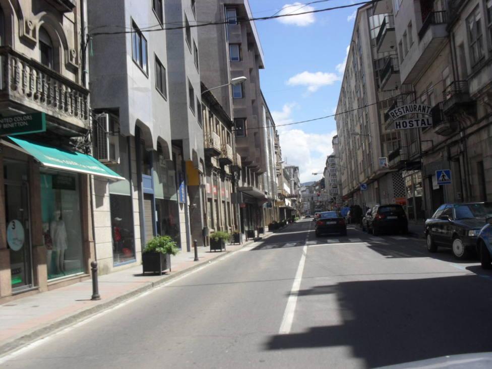 Tramo de la avenida Luis Espada, donde se suprimen los aparcamientos