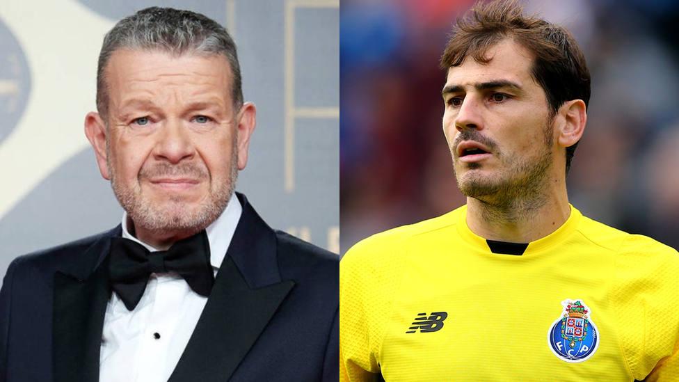 Alberto Chicote e Iker Casillas