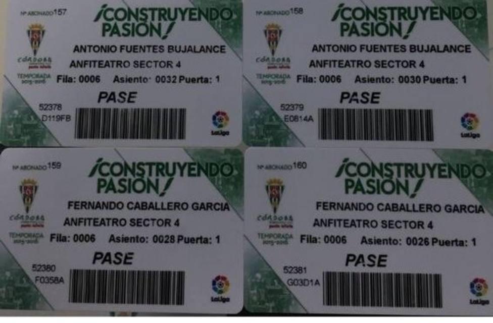 Córdoba C.F. y L.F.P. confirman que los pases teóricamente emitidos a favor de los jueces no fueron usados