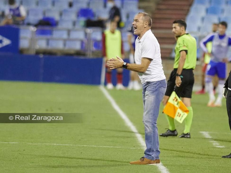 Víctor Fernández. Real Zaragoza