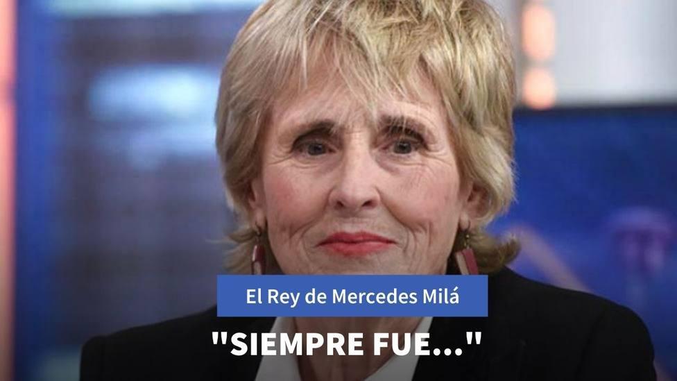Las primeras palabras de Mercedes Milá tras la salida del Rey Juan Carlos I del país
