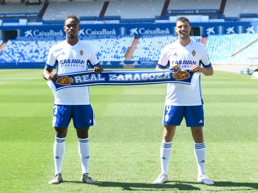 Jair Amador. Haris Vuckic. La Romareda. Real Zaragoza