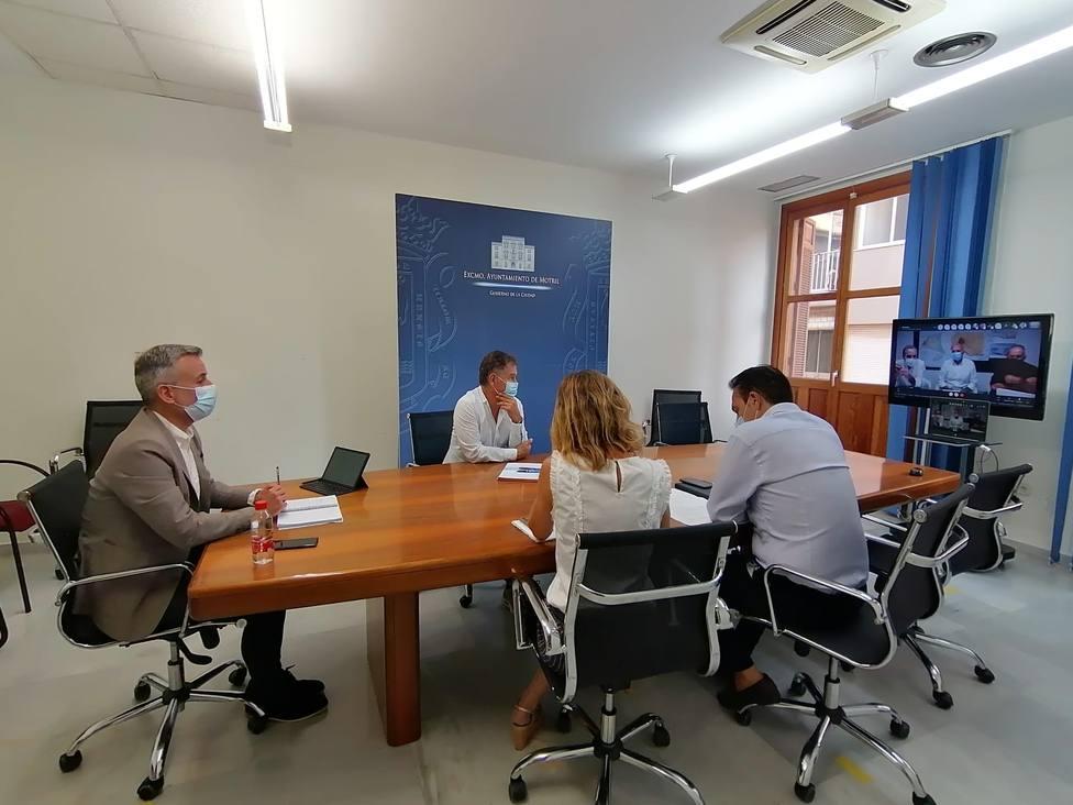 Reunión en el Ayuntamiento de Motril