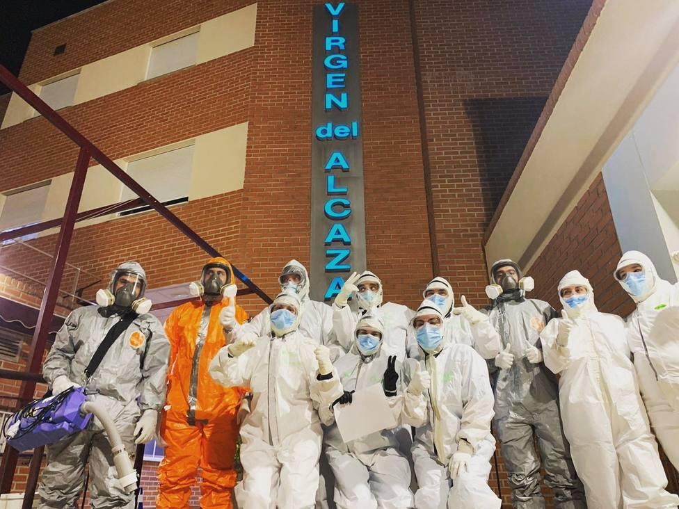 Imagen de los trabajadores del Hospital Virgen del Alcázar de Lorca