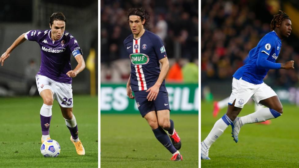 Cavani firma con el Manchester United; Chiesa refuerza a la Juventus; el PSG se lleva a Kean y Danilo Pereira
