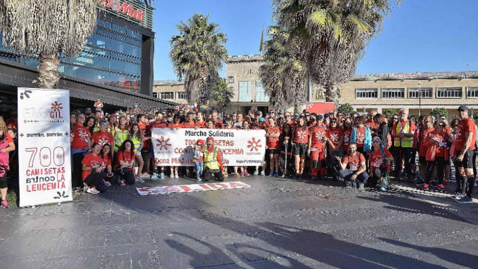Marcha 700 camisetas por la Leucemia