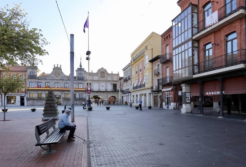 Medina del Campo, durante su confinamiento perimetral