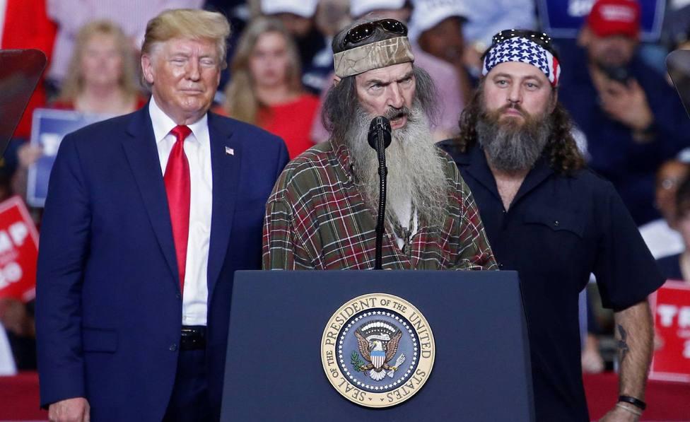 Los Roberstson, la curiosa familia de la América profunda que es un símbolo de campaña de Trump