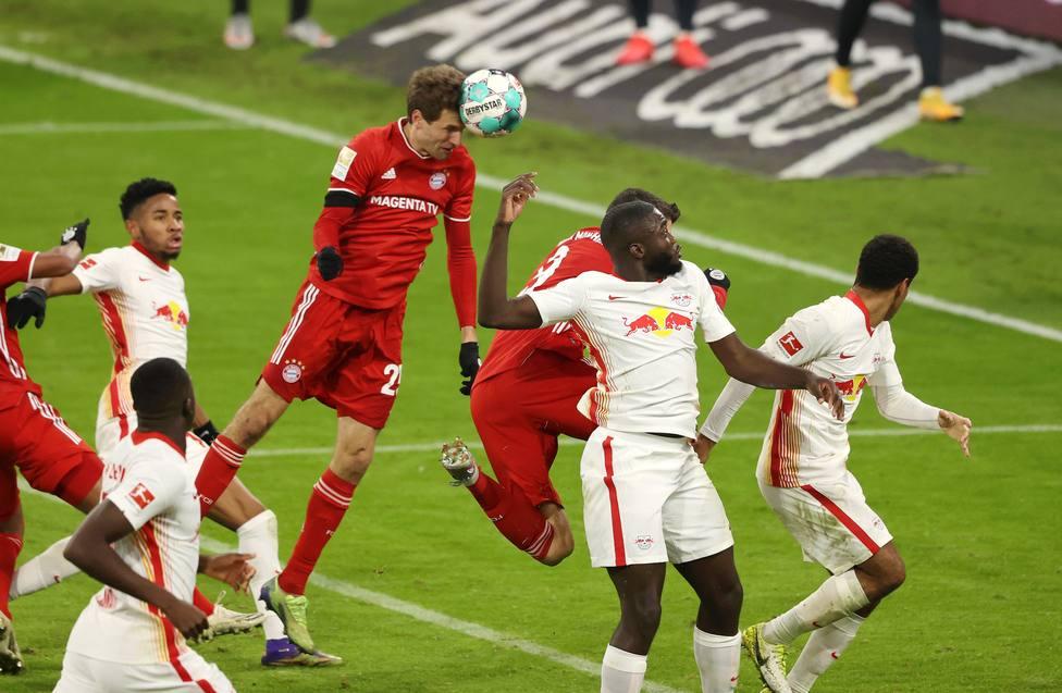 Bayern y Leipzig firman tablas en un apretado encuentro; el Dortmund no pasa del empate ante el Eintracht