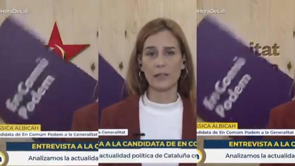 La entrevista de Mónica López a una política de Podemos que acaba en desastre: mira el cartel